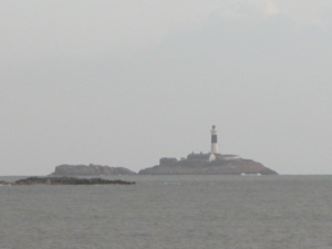 Image of Rockabill islelets and light